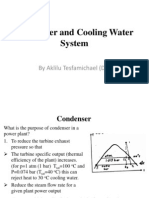 Condenser and Circulating Water System