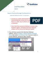 Geovision Password Reset Instructions