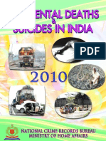 Accident Deaths & Suicides  in India 2010 Full Report
