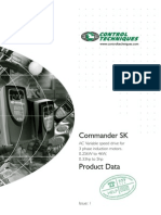 Commander SK Product Data
