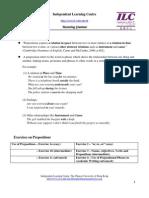 ILC Prepositions