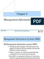 management information systems(MIS)
