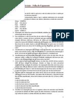 REVISÃO FOLHA DE PAGAMENTO