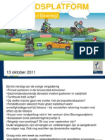 Present a Tie Platform 2011-10-13 Met Verslag