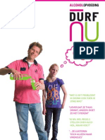 Brochure Alcohol en Opvoeding