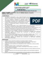 plano de aula de português IV bimestre 2010