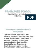 A2 Comms Marxism Frankfurt School