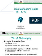 Business Manager's Guide to ITIL v3