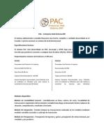 PAC – Enterprise Web Sistema ERP