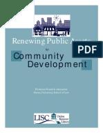 Renewing Public Assets - F Alexander 2000