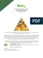 Piramide de Nutricion Vegana