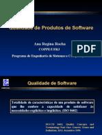 Qualidade Produtos de Software - Ana Regina