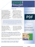 Newsletter NOV 2011