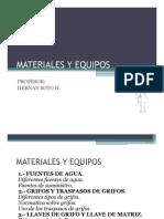 Materiales y Equipos Clase 1