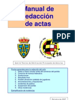Manual de Redaccion de Actas