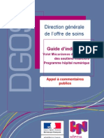 DGOS Guide d Indicateurs Strategie Hopital Numerique Appel a Commentaires Publics 20110909