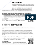 Occupy Cleveland 10.28 Flyer