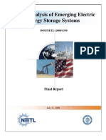 Final Report-Market Analysis of Emerging Electric Energy Sto