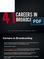 Broadcasting Careers eBook