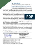 EQR Investor Bulletin Issue #5