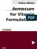 Vademecum for Vitamin Formulations