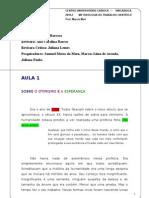 2011.2 Sobre o Otimismo e a Esperanca Metodologia Projeto