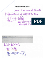 2.6 Related Rates - Annotated Flipchart PDF