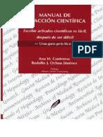 Contreras, Ana - Manual de redaccion científica