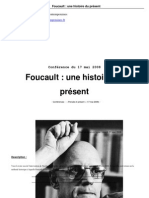 Dr Foucault a History of the Present