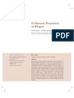 Evolutionary Perspectives on Religion (Boyer & Bergstrom 2008 - Annual Review 2009)