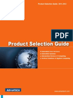 Advantech Product Selection Guide
