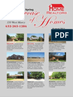 Showcase of Homes - August 2011