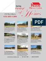 Showcase of Homes - September 2011