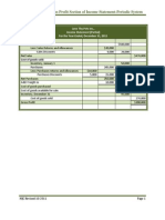Gross Profit Section of Income Statement-Periodic System