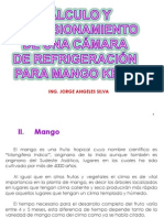 Cálculo y dimensionamiento de una cámara frigorífica mango kent