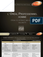 Martins L'Oreal Professionnel Homme