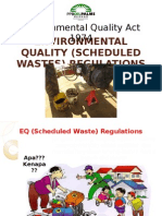 Schedule Waste Management Presentation