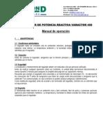 Manual Varactor 450