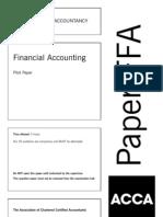 Ffa Pilot Paper