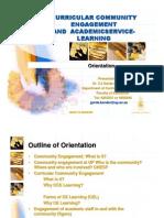 CCE Orientation