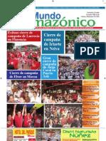 Periódico Mundo Amazónico Edicion No. 60 Oct. - Nov. 2011