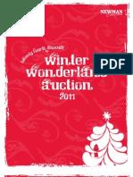 2011 Winter Wonderland Auction Catalog