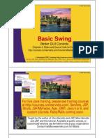13 Basic Swing