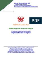 Supreme Master Ching Hai's 1993 World Lecture Tour - Rediscover Our Supreme Wisdom