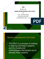 SDLC - Systems Development Life Cycle