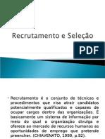 Recrutamento e Seleção(1)