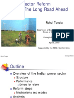 Power Sector Reforms