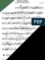 Meinauer Polka - Euphonium
