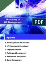 Principles of Hr Management 602
