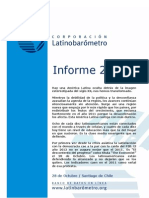 INFORME DE LATINOBARÓMETRO 2011